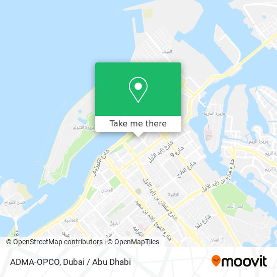 ADMA-OPCO map
