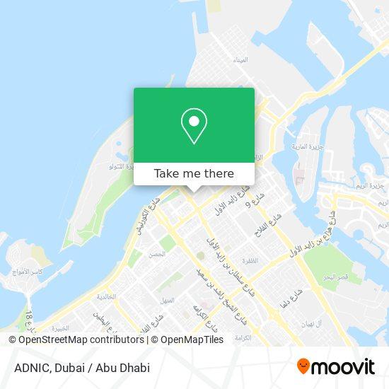 ADNIC map