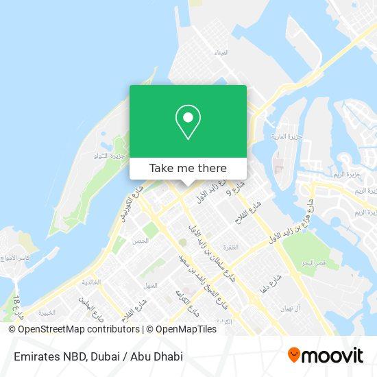 Emirates NBD map