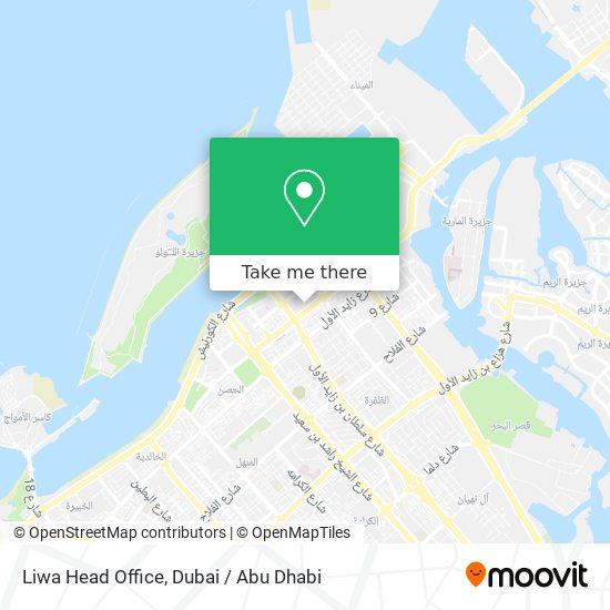 Liwa Head Office map