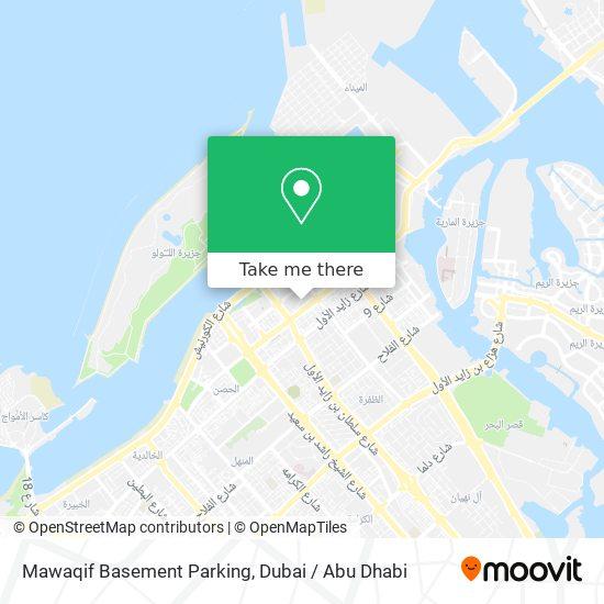Mawaqif Basement Parking map