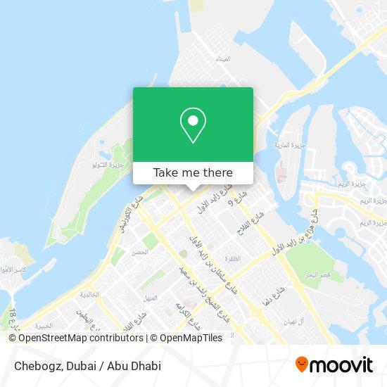 Chebogz map