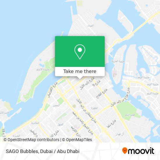 SAGO Bubbles map