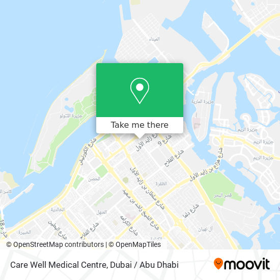 Care Well Medical Centre map