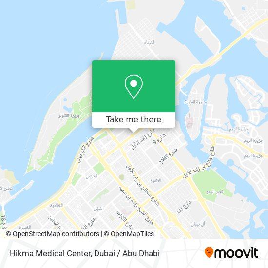 Hikma Medical Center map