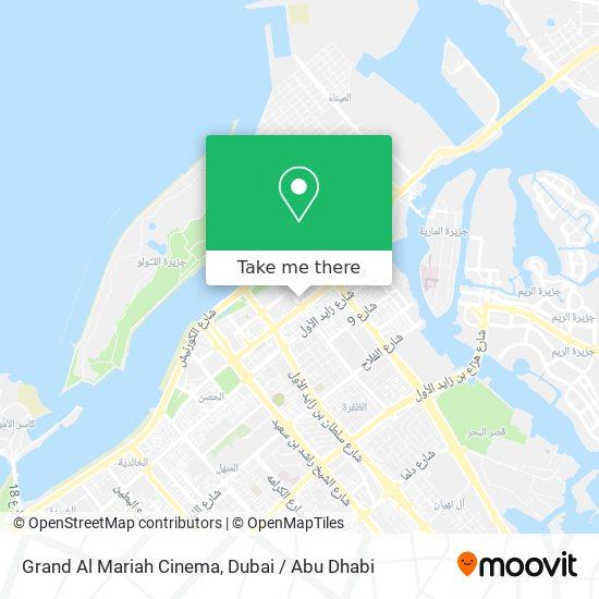 Grand Al Mariah Cinema map