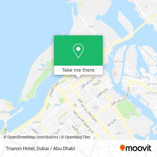 Trianon Hotel map