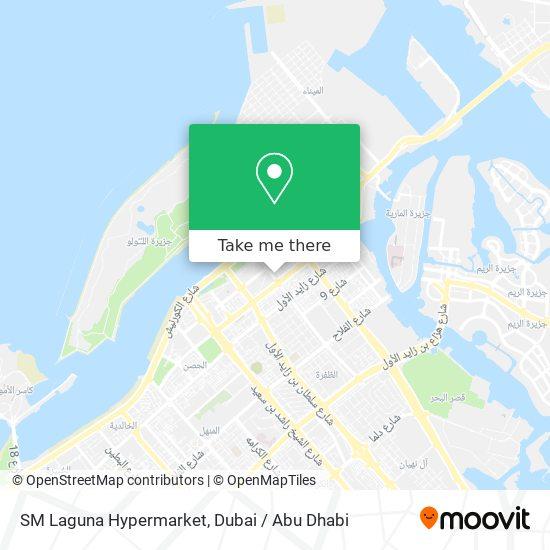 SM Laguna Hypermarket map