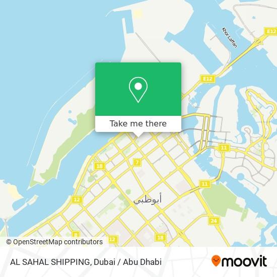 AL SAHAL SHIPPING map