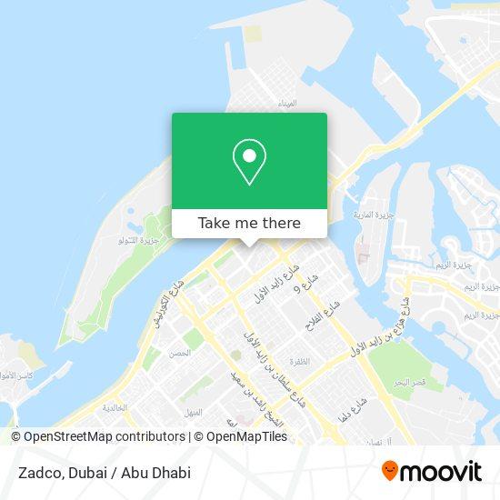 Zadco map
