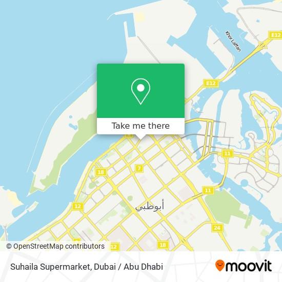 Suhaila Supermarket map