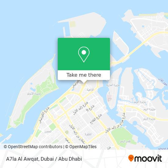 A7la Al Awqat map
