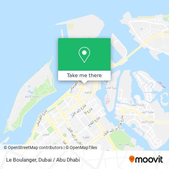 Le Boulanger map