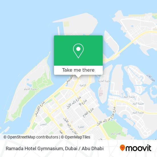 Ramada Hotel Gymnasium map