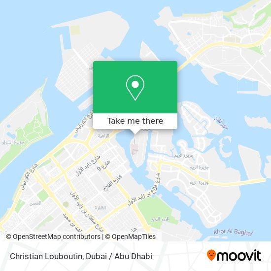 Christian Louboutin map
