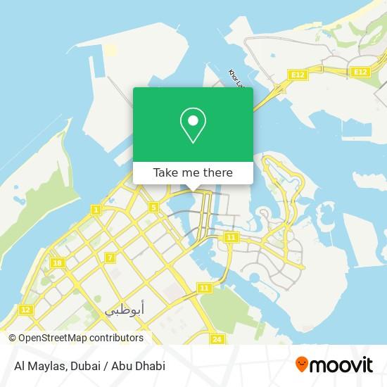 Al Maylas map