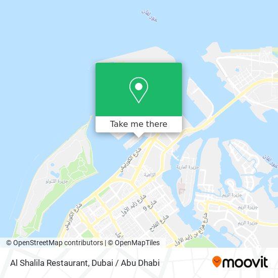 Al Shalila Restaurant map