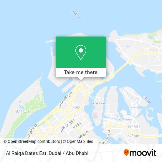 Al Raiqa Dates Est map