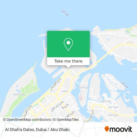 Al Dhafra Dates map