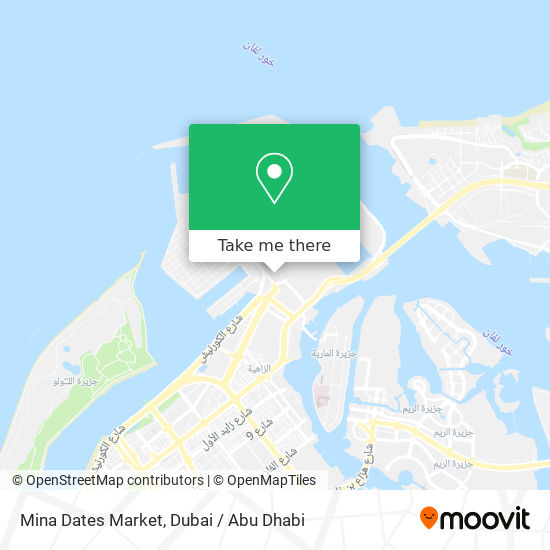 Mina Dates Market map