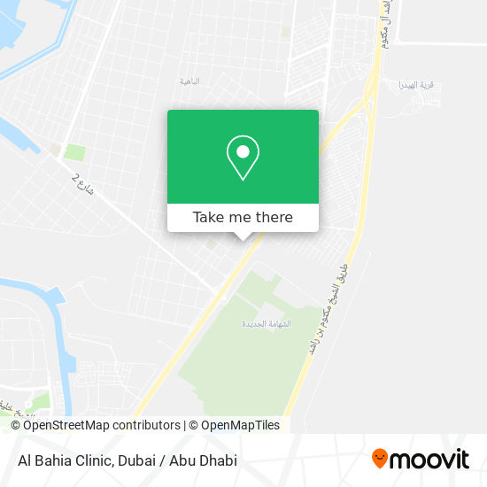 Al Bahia Clinic map