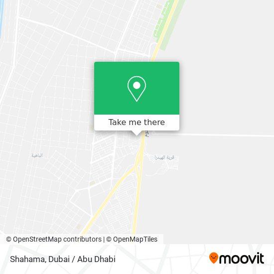 Shahama map