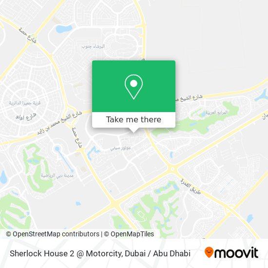 Карта Sherlock House 2 @ Motorcity