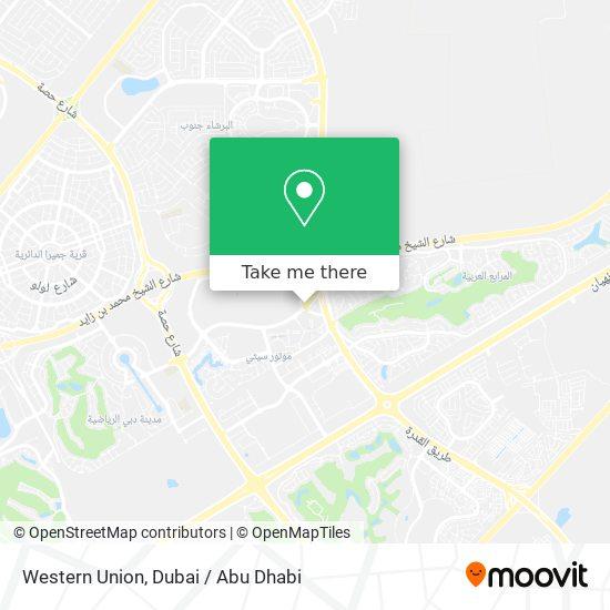 Карта Western Union