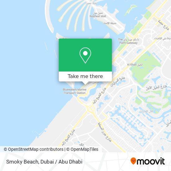 Карта Smoky Beach