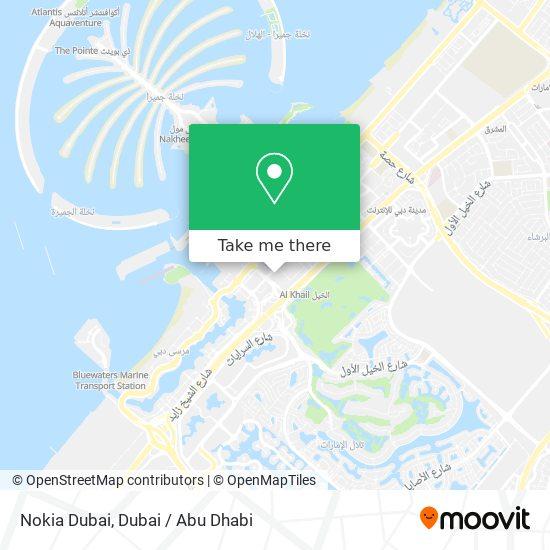 Nokia Dubai Karte