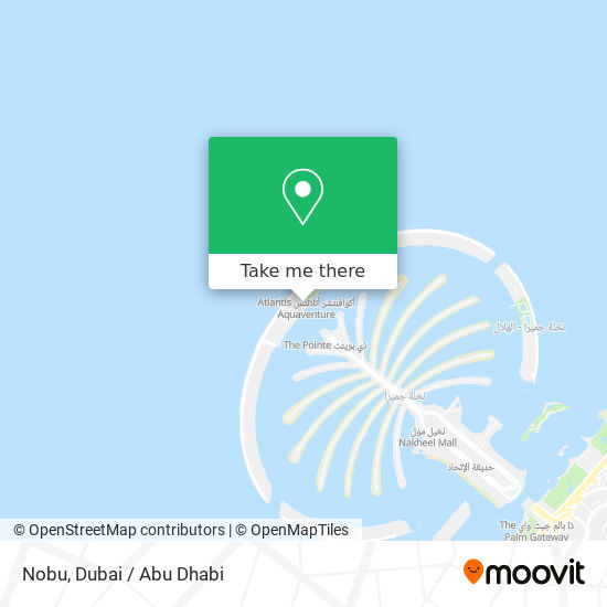 Nobu map