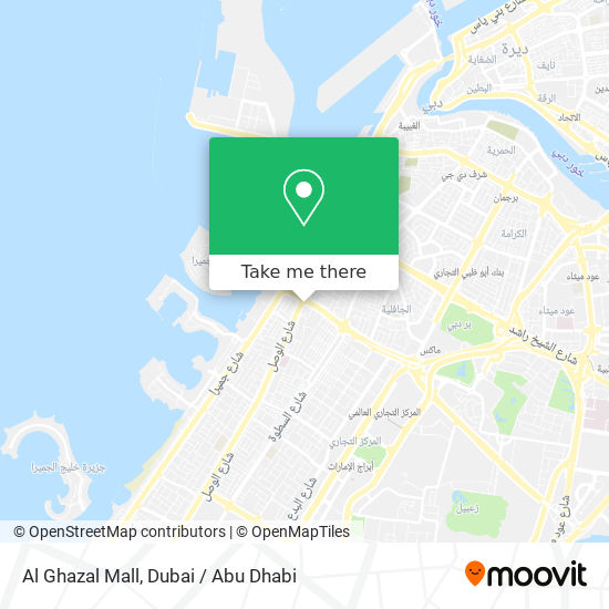 Al Ghazal Mall map