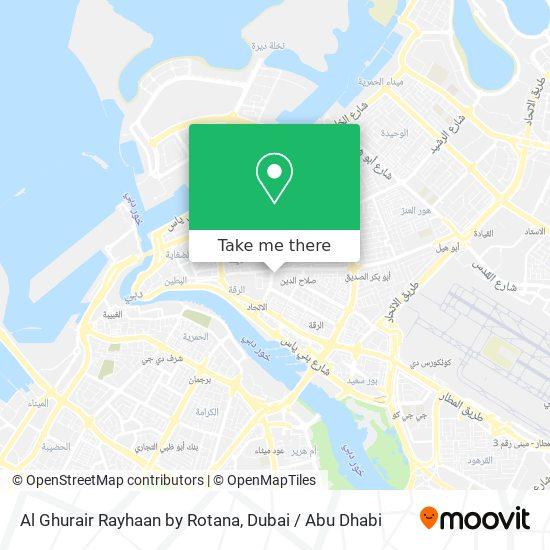 Карта Al Ghurair Rayhaan by Rotana