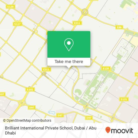 Brilliant International Private School Karte