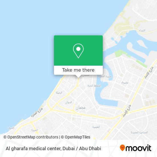 Карта Al gharafa medical center