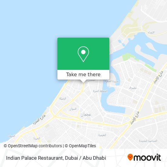 Карта Indian Palace Restaurant