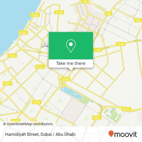 Hamidiyah Street Karte