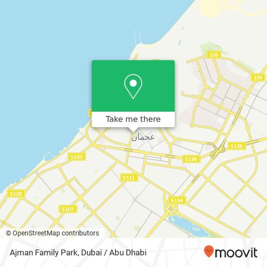 Ajman Family Park Karte
