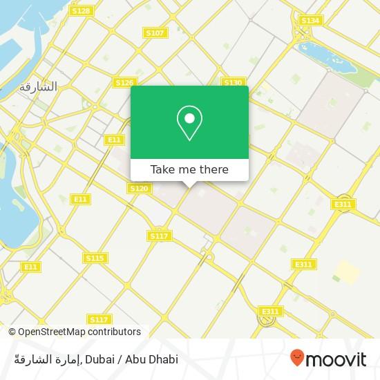 إمارة الشارقةّ Karte