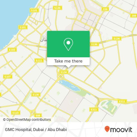 GMC Hospital Karte