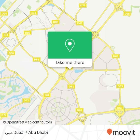 Карта دبي