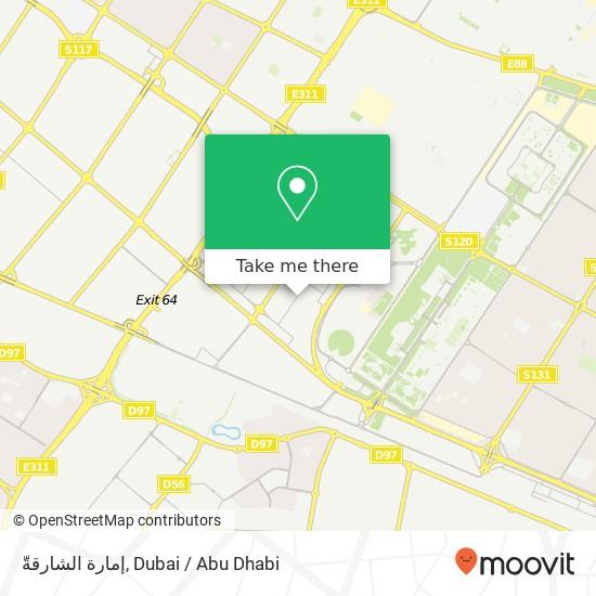 إمارة الشارقةّ map