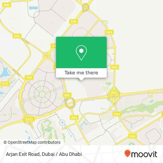 Карта Arjan Exit Road