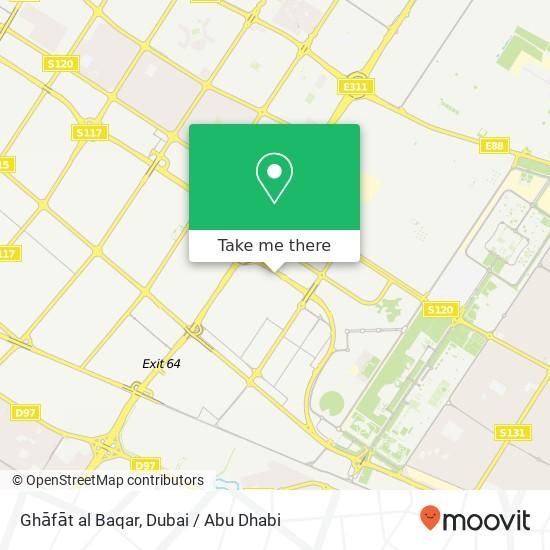 Карта Ghāfāt al Baqar
