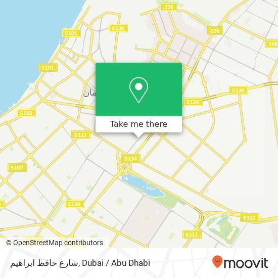 شارع حافظ ابراهيم Karte