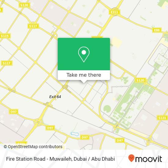 Карта Fire Station Road - Muwaileh