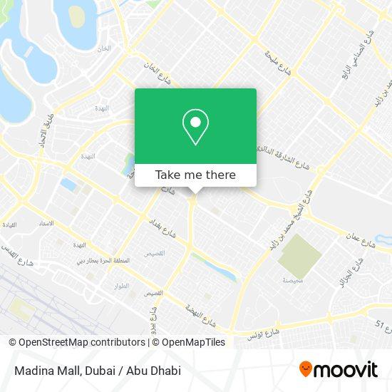 Madina Mall map
