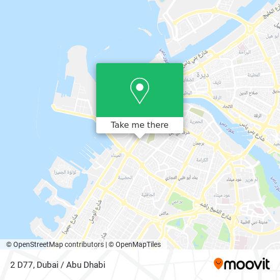 2 D77 map