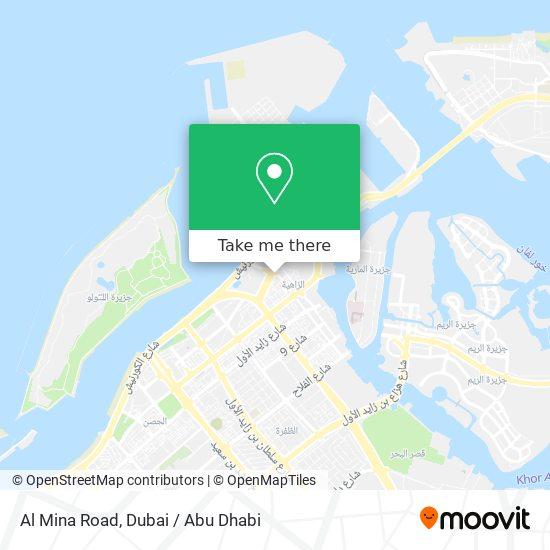 Al Mina Road map