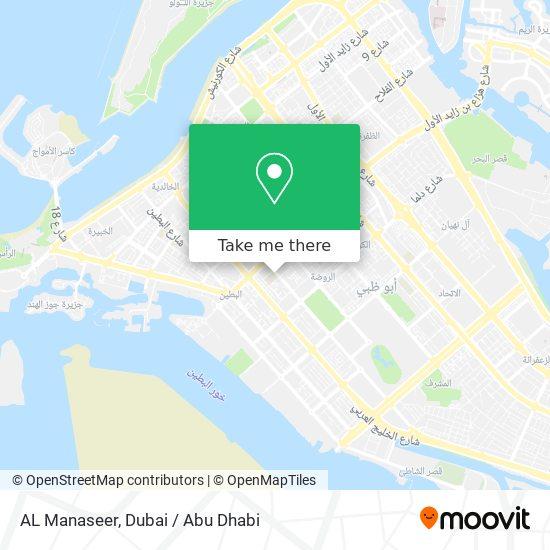 AL Manaseer map